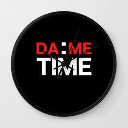 Dame Time Wall Clock