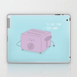 I'll Keep Your Buns Warm #kawaii #toast Laptop & iPad Skin