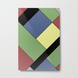Abstract #822 Metal Print