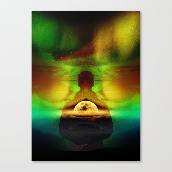 Lucid Dream of Isolation Canvas Print