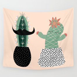 Mr. and Mrs Succulent Wall Tapestry
