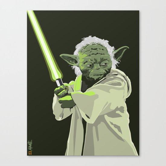 Yoda of Star Wars Canvas Print