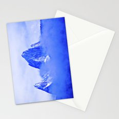 Two mountains. Stationery Cards