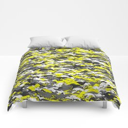Whippet camouflage Comforters