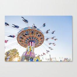 Sunset Swing Canvas Print