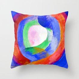Robert Delaunay Circular Forms Throw Pillow