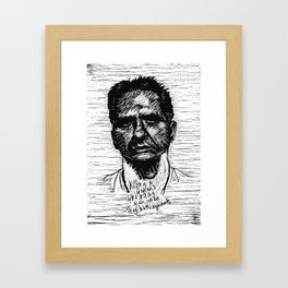 K.A.M. (Monster) Framed Art Print