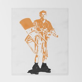 Jerk Throw Blanket