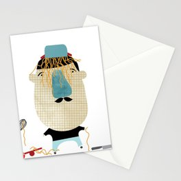 So... you wanted meat? Stationery Cards