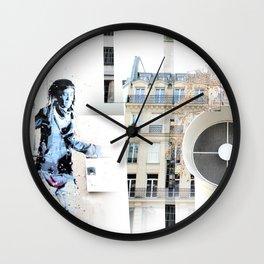Pompadu Wall Clock
