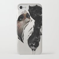 ass iPhone & iPod Cases featuring Totem by Jeff Langevin