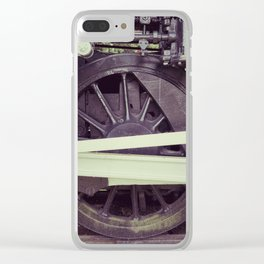 Many Wheeler Clear iPhone Case