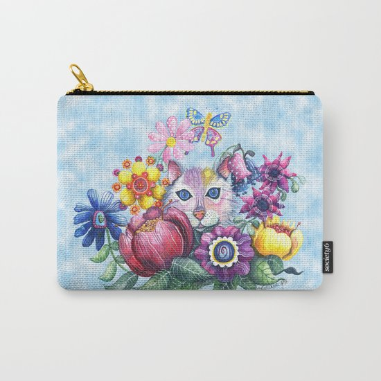 Camouflaged in a Summer Garden Carry-All Pouch