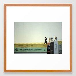 Una solida base culturale. Framed Art Print