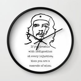 Che Guevara Wall Clock