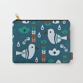 Little birds, flowers and fruits Carry-All Pouch