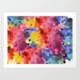 Cristal Watercolor Art Print