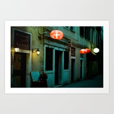 The Chinese in Venice Art Print