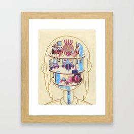Anatomy Pt. I Framed Art Print