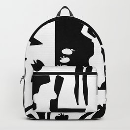 Matisse Nudes Collage Backpack