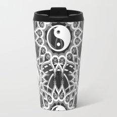 Seven Yin Yang Symmetry Balance Energy Travel Mug