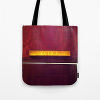the office Tote Bags featuring office by Love Improchori
