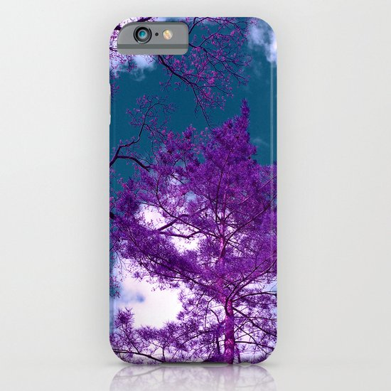 purple fir-tree II iPhone & iPod Case