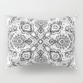 Pattern in Black & White Pillow Sham