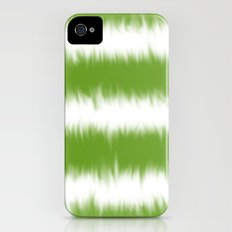 Green Tie Dye iPhone (4, 4s) Slim Case