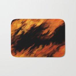 Infernal Agni #fire #burn Bath Mat