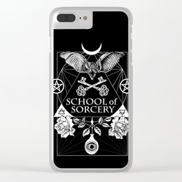 School of Sorcery Clear iPhone Case