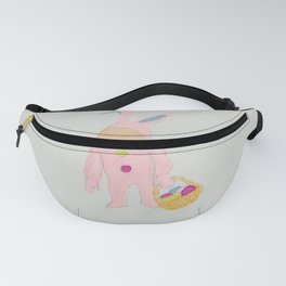 Toddlers Easter Bunny Costume Rabbit Fanny Pack