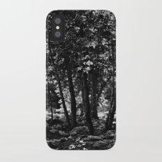 Through the Trees iPhone X Slim Case