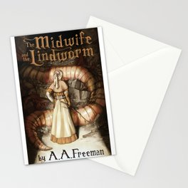 The Midwife and the Lindworm - Title Version Stationery Cards