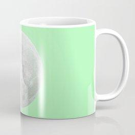 WHITE MOON + LIME SKY Coffee Mug