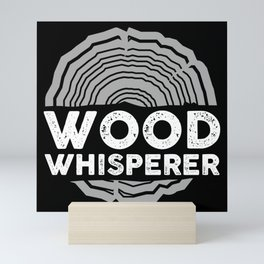 Carpenter - Wood Whisperer Mini Art Print