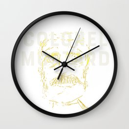 Colonel Mustard Wall Clock