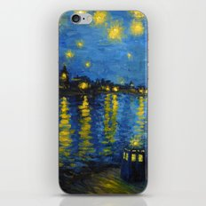 Starry Night Over Cardiff Bay iPhone & iPod Skin
