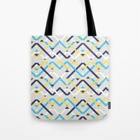 navy Tote Bags featuring Navy by La Señora