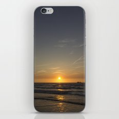 Lonely Sunset iPhone & iPod Skin
