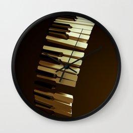 Broken notes Wall Clock