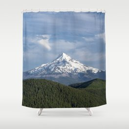 Mt Hood Oregon Shower Curtain