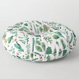 white pure nature Floor Pillow