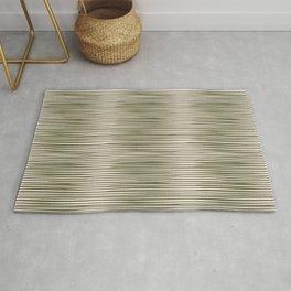 BASIC | Irregular Stripes Green Rug