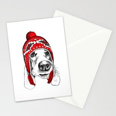 Winter Dog Stationery Cards