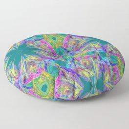 Abstract Fantasy No.1 Floor Pillow