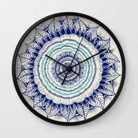 infinity Wall Clocks featuring Infinity  by rskinner1122