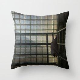 Cornered Bat Throw Pillow
