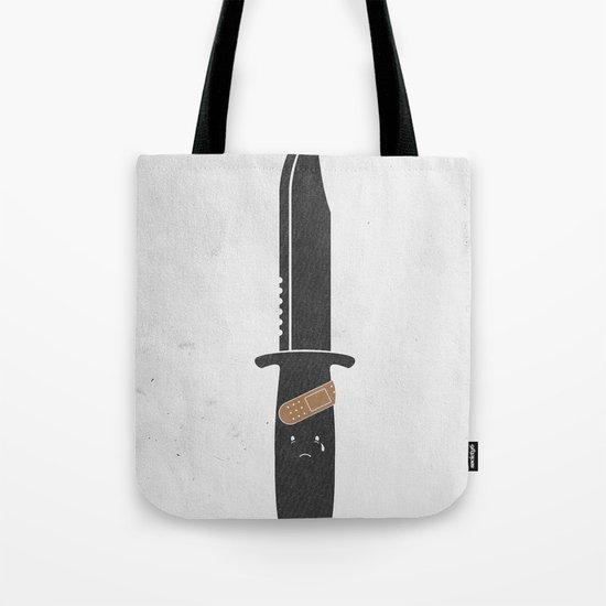 I Cut Myself Tote Bag