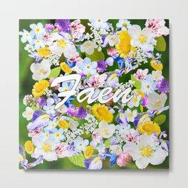 Flower Mess - Faen Metal Print